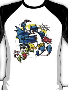 Calvin and Hobbes Batman Robin Style T-Shirt