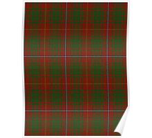 00107 Bruce County District Tartan  Poster