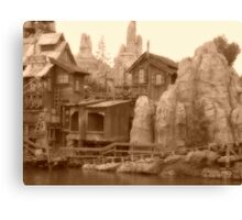 Big Thunder Mesa Canvas Print
