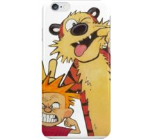 Calvin and Hobbes Duo iPhone Case/Skin