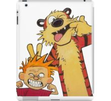 Calvin and Hobbes Duo iPad Case/Skin