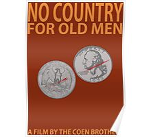 No Country For Old Men Minimalist Design Poster