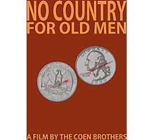 No Country For Old Men Minimalist Design Photographic Print