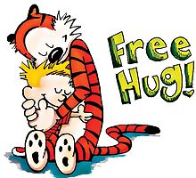 Free Hug - Calvin and Hobbes by SeniorStyle