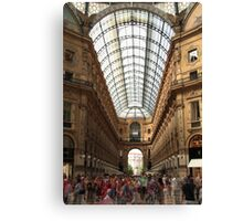 Great commotion Canvas Print