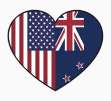 USA & NZ One Piece - Short Sleeve