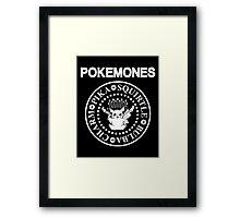 Pokemon - Pokemones Framed Print