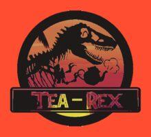 Tea Rex - Sunset Beach T-Shirt