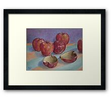 Empty Fruit Framed Print
