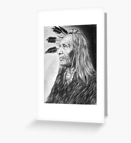 American Indian  Greeting Card