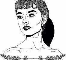 Audrey Hepburn #1 by hellviticus