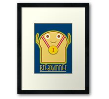 Breadwinner Framed Print