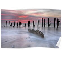 Twighlight At Spurn Point Poster
