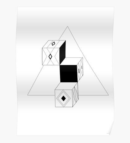 Cube Upon Cube Upon Cube Poster