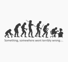 Something Somewhere Went Terribly Wrong Baby Tee