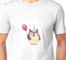 Birthday Owl Unisex T-Shirt