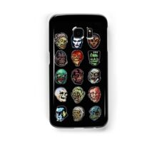 Horror Movie Monster Masks (color) Samsung Galaxy Case/Skin