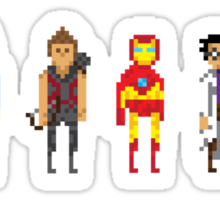 Pixel-vengers Sticker