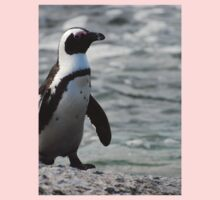 Furry African Penguin Kids Clothes