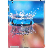 waterdrop crown iPad Case/Skin