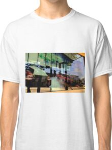 The World Around The Corner Cafe Classic T-Shirt