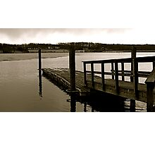 By the dock Photographic Print