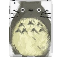 Totoro Painting  iPad Case/Skin