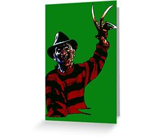 Here's Freddy Greeting Card