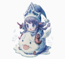 Cute Winter Wonder Lulu - League of Legends Kids Clothes