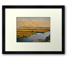 """Along the Back Bay"" Framed Print"
