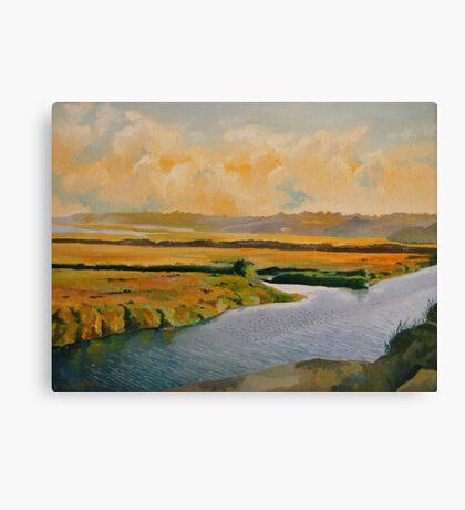 """Along the Back Bay"" Canvas Print"