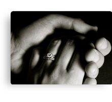 Married Hands Canvas Print