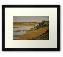 """""""Back Bay Hillside"""" Framed Print"""