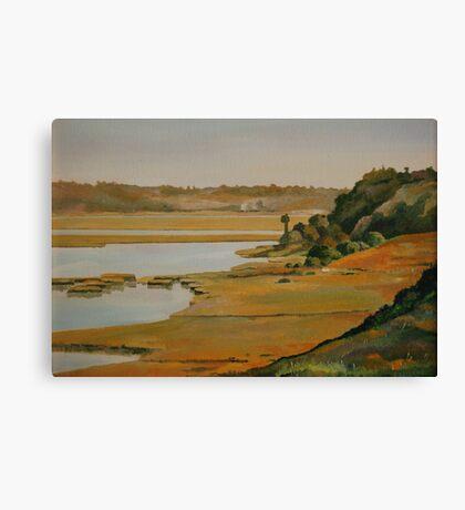 """Back Bay Hillside"" Canvas Print"