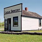 The Luzan Grocery, Ukrainian Cultural & Heritage Village, Alberta, Canada by Adrian Paul