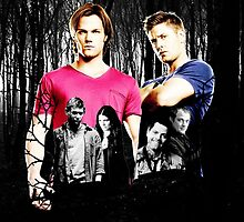supernatural - sam and dean by Dylanoposey