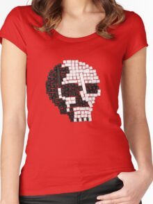 Key Skull Women's Fitted Scoop T-Shirt