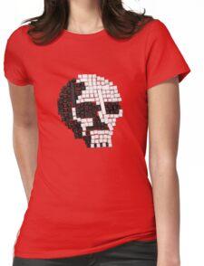 Key Skull Womens Fitted T-Shirt
