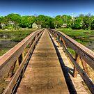 Wellfleet Bridge by Artist Dapixara