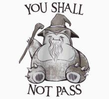 You Shall Not Pass Kids Clothes