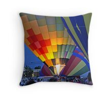 Baloon Glow Throw Pillow