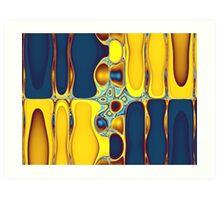 Synthesized Synchronicity Art Print