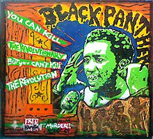 FRED HAMPTON  by johnny hancen