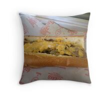 Cheese Wit Throw Pillow