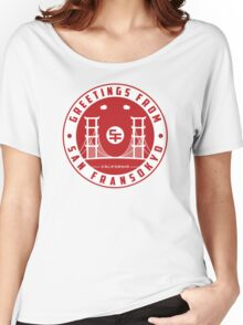Greetings from SF v2 Women's Relaxed Fit T-Shirt