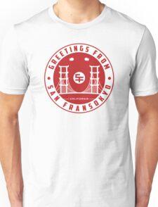 Greetings from SF v2 Unisex T-Shirt