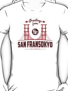 Greetings from SF T-Shirt
