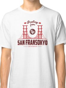 Greetings from SF Classic T-Shirt