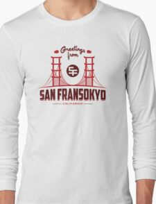 Greetings from SF Long Sleeve T-Shirt