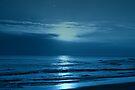 Blue Sunset by Sandy Keeton